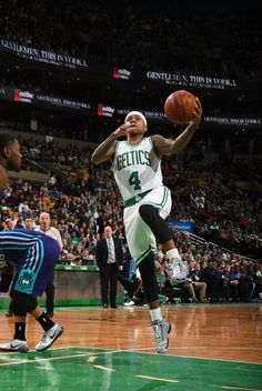 The dynamic back-court of @Isaiah_Thomas & Marcus Smart combine for 17 for @celtics who trail @hornets 49-45 at half.