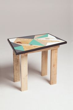 Upcycling and modern marquetry