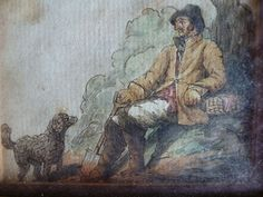 A countryman with his dog 'From Galway' - Foxhouse Fine Art | Selected Works of Art, Ceramics & Glass, Jewellery & Pictures