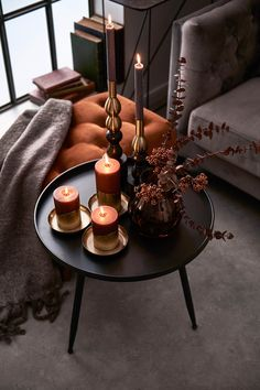 Winter decoration for the side table decorating idea . - Weihnachtsdeko - Home Decor Farmhouse Bowls, Kitchen Cabinet Storage, Storage Cabinets, Industrial Living, Home Trends, Home And Deco, Decoration Table, Winter Garden, Cozy House
