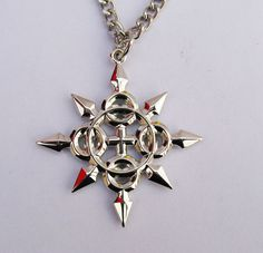 I don't need it I don't need it--OH WHO AM I KIDDING I NEED IT!!! | Kingdom Hearts Necklace - Axel