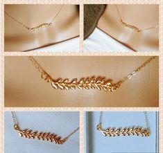 Collier Antique, Arrow Necklace, Gold Necklace, 14 Carat, Boutique Etsy, Boho Chic, Unicorn, Pink, Images