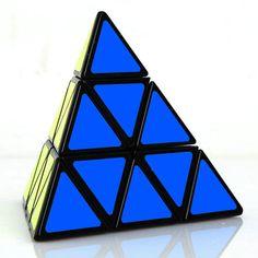 Shengshou Pyraminx speed cube Pyramid magic cube 3x3 black Speed Twist Puzzle #Shengshou