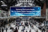 Samsung conquista el mercado mundial de digital signage por séptimo año consecutivo - Contenido seleccionado con la ayuda de http://r4s.to/r4s
