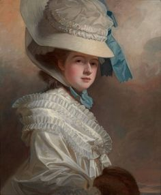 George Romney: Lady Edward Bentinck, née Elizabeth Cumberland | Pictures | Lowell Libson. Private collection, USA
