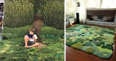 Unique Wool Rugs That Bring Moss And Meadows Into Your Home | Bored Panda