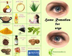 Home Remedies For Eye Sty Stye Natural Remedy Pinterest Top