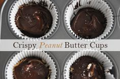Chocolate, peanut butter. Need to say more?