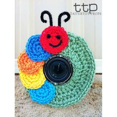 Lens Buddy Caterpillar  loks easy to do without patteren.
