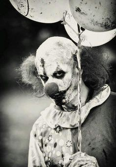Clowns (Yikes!) Based on how clowns used to look you'd think they were supposed…