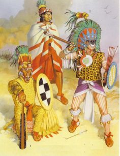 Risultati immagini per guerreros aztecas