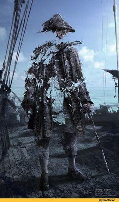 Пираты Карибского Моря,фильмы,длиннопост,концепт-арт,Armando Salazar,безмолвная мария,Армандо Салазар,Silent Mary,призраки