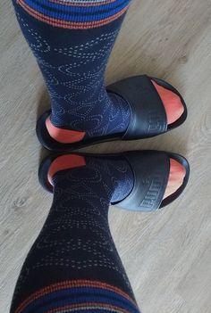 Clogs, Socks, Slide Sandals, Fashion, Clog Sandals, Sandals, Moda, Fashion Styles, Sock