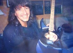 Richie Sambora & his Custom Gibson Thank You Patricija