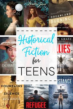 Great Historical Fiction for Teens, excellent books for teens Books For Teen Boys, Best Books For Teens, Best Books To Read, Ya Books, Good Books, Historical Fiction Books For Kids, Book Suggestions, Book Recommendations, Book Lists