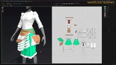 Marvelous Designer Showreel 2015