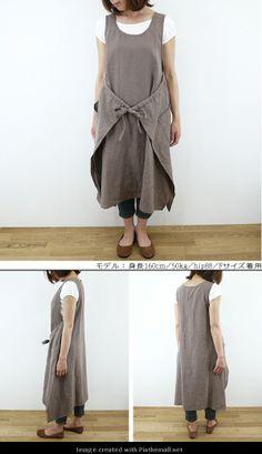 wrap around apron