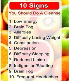 Cleanse...