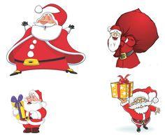 Cartoon Santa Claus Vector [EPS File]