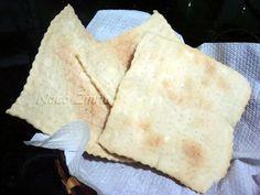 Pão ázimo, o pão sem fermento