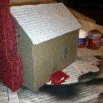 JR Miniatures House basecoated
