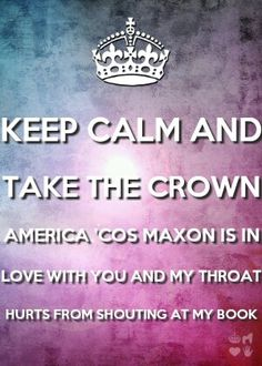 Take the crown America. Geez! He loves you!
