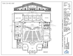 Church floor plans free designs free floor plans building plans 26 462 smp cpfl 400 8 rg malvernweather Images