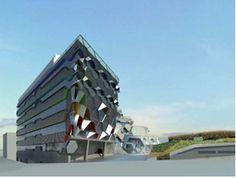 The futuristic Engineering & Computing building - opens this summer Coventry University, Futuristic, Opera House, This Is Us, Engineering, England, Future, Architecture, Building