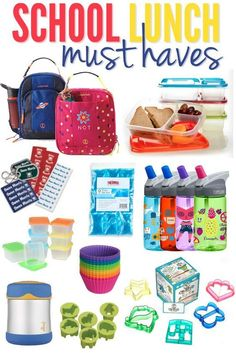 If you are packing lunch boxes every day, make sure you have these School Lunch Must Haves. I love the mini-cutters for veggies and cheese. Lots of other great lunch making supplies too!