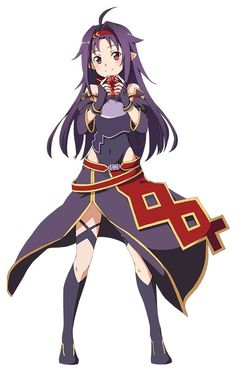 Arte Online, Online Art, Maquillaje Diy, Sword Art Online Yuuki, Familia Anime, Best Waifu, Female Anime, Cute Images, I Love Anime
