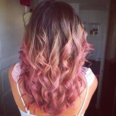 dark roots pink hair - Buscar con Google
