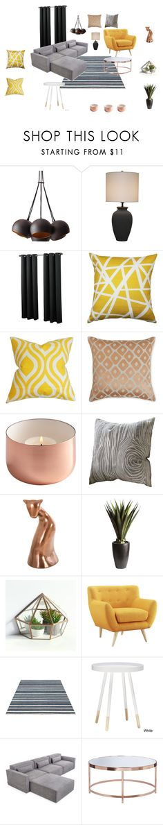 """Bft-2355"" by arvai-andrea on Polyvore featuring interior, interiors, interior design, home, home decor, interior decorating, Pillow Decor, The Pillow Collection, Yves Delorme and Pier 1 Imports"