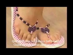 Chinelos Customizados com Helena Couventaris - Vitrine do Artesanato  2013