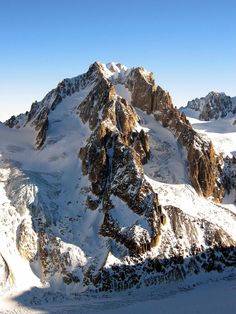 Aiguille d'Argentière : Climbing, Hiking & Mountaineering : SummitPost