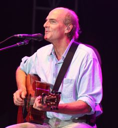 James Taylor--All time favourite male singer...grew up listening to him and have been to 3 of his concerts!