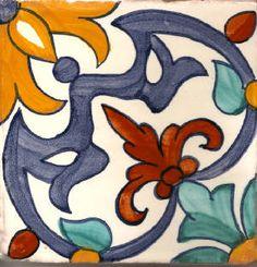 Spanish Tiles - Del Mar
