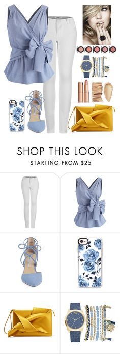 """""""Untitled #828"""" by heidi-jacob ❤ liked on Polyvore featuring 2LUV, Chicwish, Kristin Cavallari, Casetify, N°21 and Mixit"""
