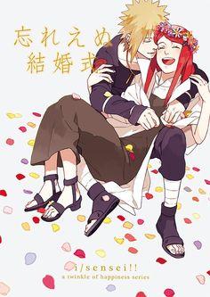 Minato and Kushina. #naruto
