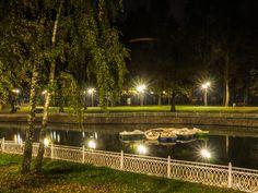Pond with boats by Alexander Polomodov on 500px