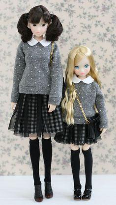 Momoko and Ruruko