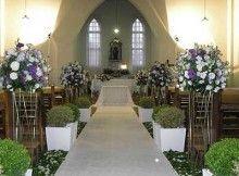 Dicas de Decoração de Igreja para Casamento