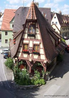 Alte Schmiede in #Rothenburg - Old forge in #Rothenburg, #Germany