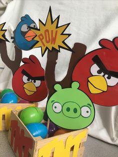 angry birds centerpiece