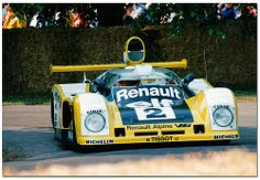 1978 Renault Alpine A442B Sportscar