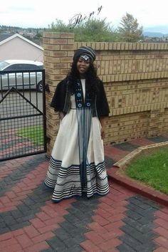 Xhosa wedding traditional dresses What are Xhosa styles for bells occasion? You accessible the wardrobe, and the aboriginal anticipation is 'I accept. African Fashion Designers, African Inspired Fashion, African Men Fashion, African Women, Ankara Fashion, Xhosa Attire, African Attire, African Wear, African Dress
