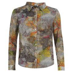Firetrap | Firetrap All Over Print Blouse Ladies | Ladies Shirts