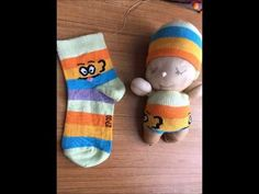 There is no easier than that knitting doll - YouTube