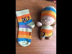 Ten Çorap ve Pamukla Bebek Yapılır mı Demeyin :) - YouTube