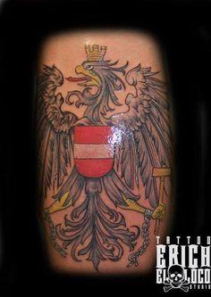 Tattoo Adler Wappen Österreich