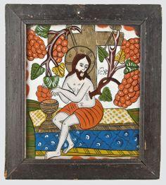 True Vine, Ikon, Vines, Cool Stuff, Frame, Glass, Illustration, Crafts, Painting
